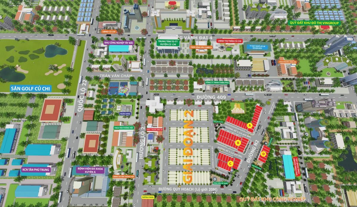 Khu đô thị Sun City 2 Củ Chi