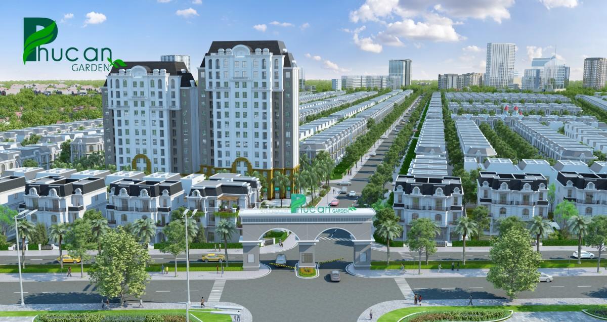 Dự án Phúc An Garden tọa lạc tại huyện Bàu Bàng