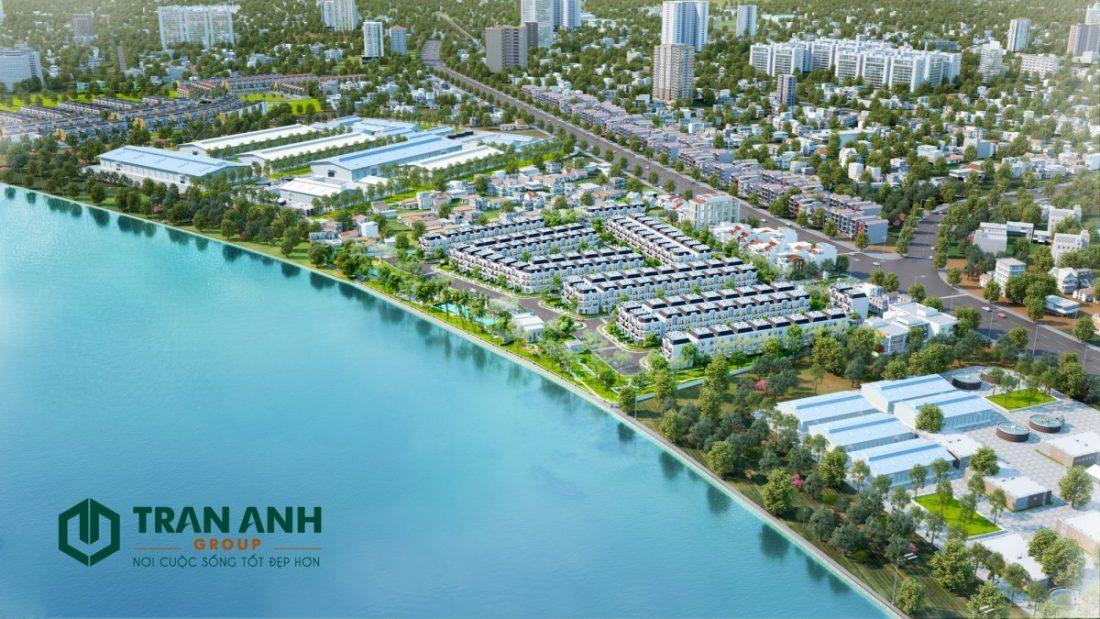 Tổng thể dự án Solar City Bến Lức
