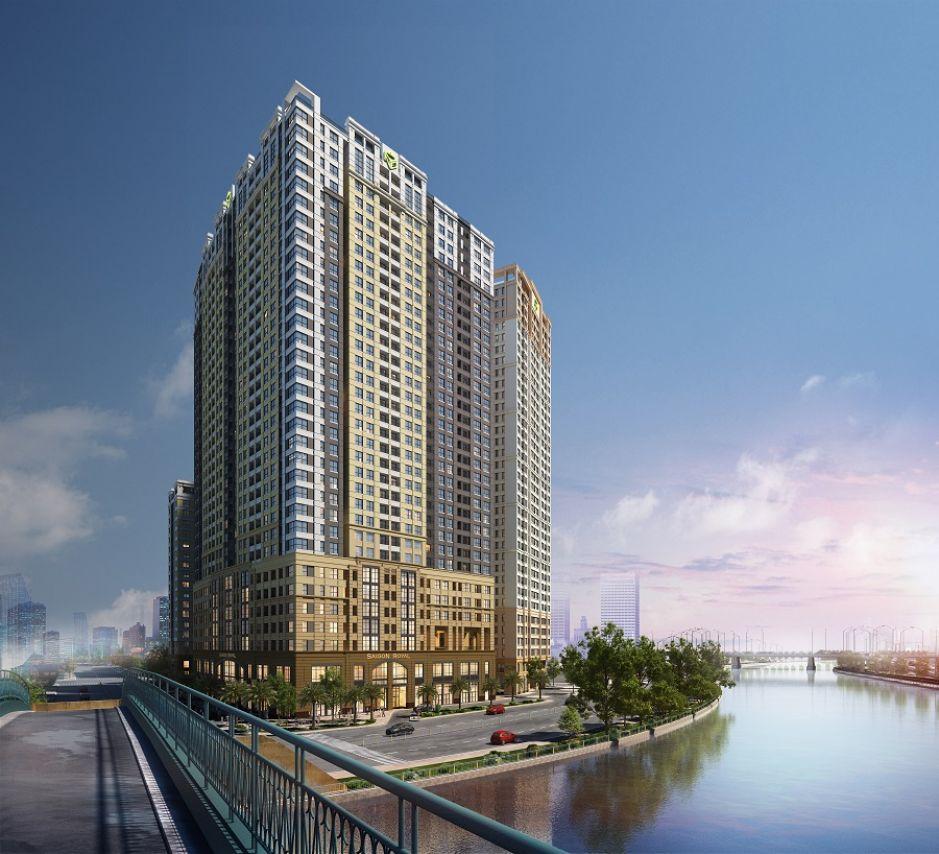 Dự án căn hộ chung cư Saigon Royal bên sông