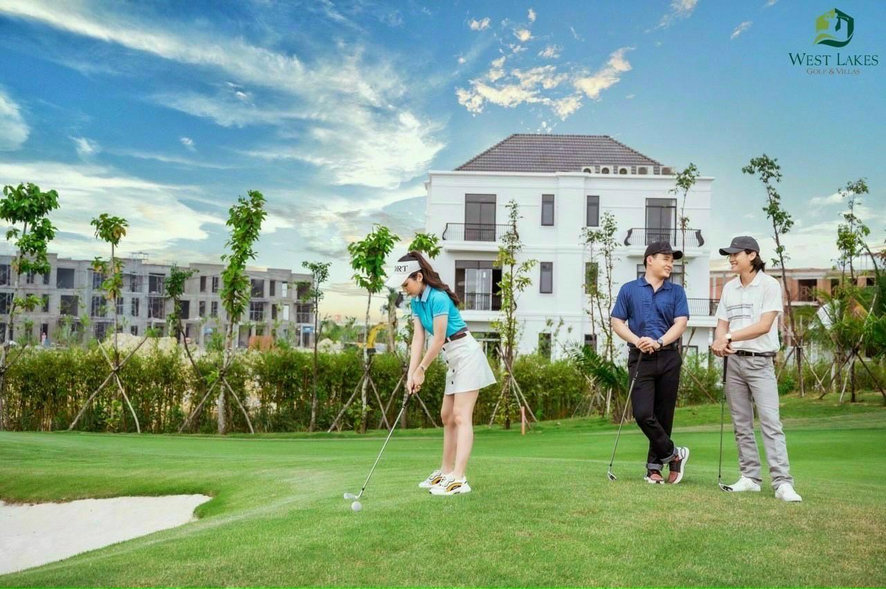 Biệt thự sân golf Tân Mỹ ở đâu